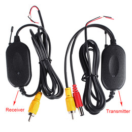 Wholesale Car Parking Wireless - 2.4G Wireless Module Adapter Wireless Transmitter And Receiver For DVD Car Rear View Camera Car Parking Backup Camera