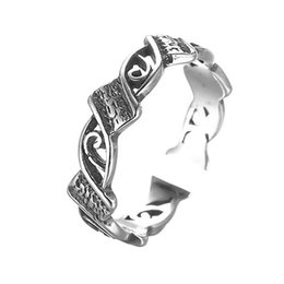 Wholesale Cheap Bijoux Wholesale - 5pcs lot Cheap Vintage Ring Female 925 Sterling Silver Jewelry New Fashion Accessories for Men Punk Rings Buy Bulk China Bijoux