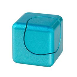 Wholesale Square Games - New Luxury Edc Infinity Cube Fidget Cube Mini Hand Spinner Whirlwind Square Finger Gyro Edc Decompression Toy game