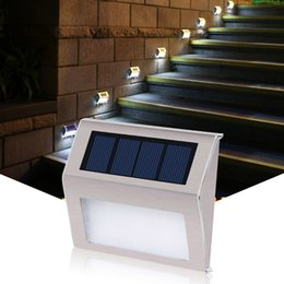 Wholesale Patio Wall Lighting - Led Silicon Solar Wall Patio Yard Garden Lights Outdoor 2LED Bright Wireless Street Path Motion Sensor Lights HH7-02