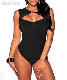 Wholesale Sexy Leopard Bodysuit Xl - Black Backless Rompers Jumpsuit 2016 Sexy Leopard Print Lady Overalls Clubwear Women Slim Bodysuit Macacao Feminino X135