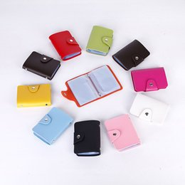 Wholesale Cheap Purses Wallets Wholesale - wallets 2017 new arrival PU leatheedr card holder 8 colors brand card holder simple purse high quality and cheap price