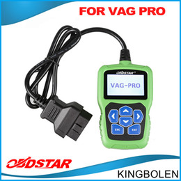Wholesale Diagnostic Cables Vag - Original OBD star VAG pro Key Programmer & Mileage correction tool via obd cable No Need Pin Code Support New Models DHL free Shipping