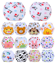 Wholesale Sassy Diapers - Baby Diaper Washable Reusable nappies changing cotton training pant happy cloth diaper sassy fraldas reutilizaveis NB031