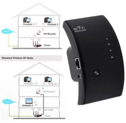 Wholesale Amplificador Wifi - Wireless Wifi 300Mbps Range wi-fi router Repeater Extender Booster repetidor wifi amplificador Black repetidor de sinal wifi