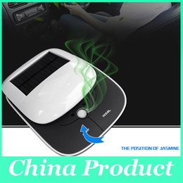 Wholesale Smoke Air Purifiers - Fashion Car air purifier oxygen bar car with a solar car in addition to formaldehyde anion smoke pm2.5 New 010275