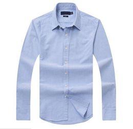 polos de golf Rebajas Nuevas ventas, costumbres famosas, camisas casuales, populares, bordados de golf, negocios, polos, camisas de manga larga para hombres