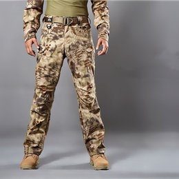 Wholesale Multicam Camouflage - Multicam Airsoft Military Camouflage pants blind hunting clothing tactical cargo pants army combat pants camouflage fatigues