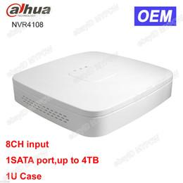 Wholesale Udp Dns - Dahua OEM DH-NVR4108 8CH Channel 1SATA Smart Mini 1U Network Video Recorder NVR