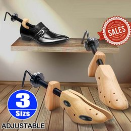 Wholesale Wood Shoe Stretchers - 2-Way Adjustable Shoe Trees From Solid Wood Unisex Stretcher Cedar Horn