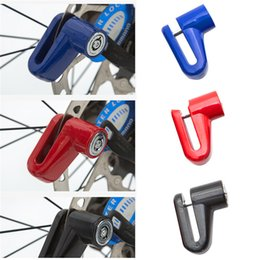 Wholesale Bicycle Disk Brake Rotors - Anti Theft Disk Disc Brake Rotor Lock For Electric Cars Mountain Bike Bicycle Motorcycle SafetyLock Bicycle Accessory 2505063