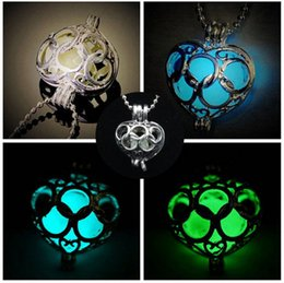 Wholesale Cross Jewelry Color - Jewelry Cheap Glow In The Dark Necklaces Unisex Cross Silver Color Jewelry Alloy Material Chains Fashion Shipping Free Hot Selling
