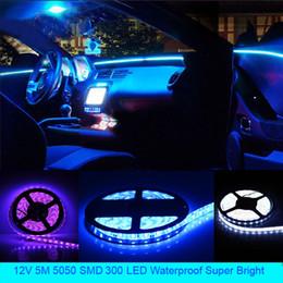 лампа prado Скидка Горячие светодиодные лампы полосы света 5 м 12 В 60SMD 300/600 светодиодные гибкие полосы света водонепроницаемый высокое качество супер яркий декоративный свет DIY