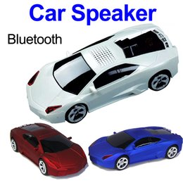 Wholesale Car Shape Speaker Portable - Drop Shipping Speakers Portable Bluetooth Speaker Wireless Speaker Car Shape DS-700BT Support Hands-free Call TF FM USB for Smart Phones
