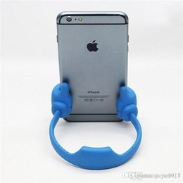 Wholesale Funny Phone Stands - New Universal Stylish Thumb OK Mobile Phone Desk Stand Holder Mount Hold Supporter for phone iphone Ipad Samsung stand funny phone holder
