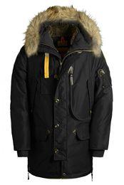 Wholesale Kodiak Jacket - 2017 Top Copy Hot Sale With wholesale price Brand Men's Kodiak down Jacket Hoodies Fur Fashionable Winter Warm Parka Free Shipping
