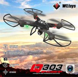 2019 wltoys quadcopter WLtoys Q303-C Q303C mit 2MP HD-Kamera, einachsig, kardanisch, 2,4G, 4CH, 6-Achsen-RC-Quadrocopter, RTF-Modusschalter + 2 günstig wltoys quadcopter
