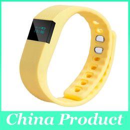 Wholesale Bluetooth Se - FITBIT TW64 wristband Smart Band Fitness Activity Tracker Bluetooth 4.0 Smartband Sport Bracelet 6 colors for Iphone SE 6 6s Plus