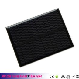 Wholesale Diy Phone Kits - 6V 1.2W 200mA Mini Solar cells Panel monocrystalline polycrystalline 6V 1.2W solar cell battery Panel charger For DIY Solar Kits