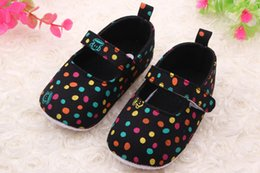 Wholesale Autumn Little Monkey - Little monkey shoes wholesale circle baby shoes baby toddler shoes College style Lovely wind round dotpaste