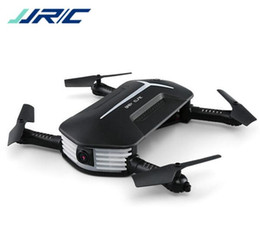Wholesale Flying Rc Toys - 2018 latest flying toy JJRC H37 Baby ELFIE Drone Mini Selfie Drone HD Camera Wifi FPV 720P camera G-Sensor Control RC Quadcopter Helicopter