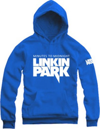 Wholesale Parks Sports - Free shipping hoodie pullover for Linkin Park sweater Unisex Sports shirt spring autumn winter Hoodies Sweatshirts fleece coat 9 color
