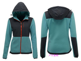 Wholesale Women Light Hoodies - Light warm sport jackets Women Autumn fleece high Quality cheap sport jackets Hoodie s-xxl first hands prices free shipping