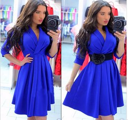 Wholesale Womens Office Dress Clothes - Sexy club dress 2016 women elegant casual office womens sexy dresses party night club dress plus size women clothing