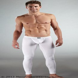 Wholesale Sexy Warm Underwear - Wholesale-Sexy underwear man penis bag comfortable breathable warm trousers made of pure cotton fashion brand men's underwear cotton