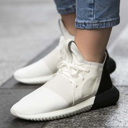 Wholesale Height C - High Quality Y-3 Tubular Defiant Mens and Womens Sports Running Shoes Fashion Sneaker Athletic Shoes Size 36-44