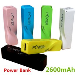 Wholesale external battery for iphone 4s - 100pcs New 2600mAh perfume mini Power Bank universal USB External Backup Battery for iPhone 4s 5 5c 6 Mobile power for samsung s3 s6