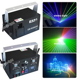 Wholesale Dj Laser Light System - Wholesale- free shipping DMX New year laser show system Cristmas decoration stage disco party dj effects light