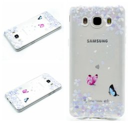Wholesale Purple Marbles - Butterfly Flower Soft TPU Case For Galaxy A310 A510 J510 J710 J310 G530 G360 Note5  S7 Edge Dreamcatcher Henna Paisley Marble Girl Bike Skin