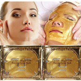Wholesale Gold Cream For Face - Women Skin Care Facial Mask Gold Collagen Gold Crystal Collagen Powder Face Peels for Moisturizing Firming Oil-control