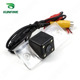 Wholesale volkswagen santana - HD CCD Car Rear View Camera for Volkswagen Touareg Tiguan Santana 08 09car Reverse Parking Camera Reversing Night Vision Waterproof KF-V1161