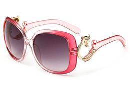 Wholesale Fox Sunglasses - Sunglasses For Women Vintage Woman Sunglass Womens Luxury Sun Glassess Ladies Oversized Sunglases Fashion Fox Designer sunglasses 4L0A32