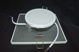 Wholesale Led Square Ceiling Integrated Lights - Integrated Recessed LED Ceiling Panels Down Lights SMD 4014 8W 16W 22W 30W LED Panel Lights surface mounted Downlights Lighting round square