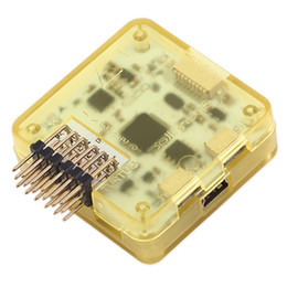 Контроллер полетов rc онлайн-CC3D рейс контроллер 32 бит Процессор с случае боковой Pin RC горючего B00185 бард