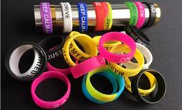 Wholesale Silicone Bracelets Customized - 2017 New Personalized silicone bracelet, customized silicone band , cheap rubber band vape band, vape band silicone ring 1000pcs dhl