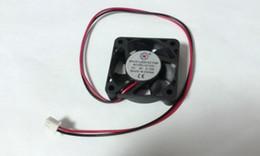Wholesale Case 9v - BLACK DC 4010S 9V 2 Wires DC Brushless Cooling piastics fan
