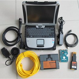 Wholesale Ista Software - Best for BMW ICOM diagnostic tool with laptop CF-19 and ISTA D4.05 software for BMW& MINI full system diagnosis and offline program
