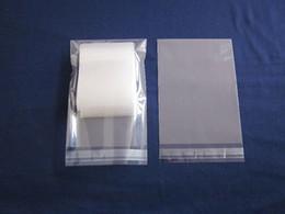 Бесплатная доставка 1000 шт. / лот самоклеющиеся печать OPP мешок, 9 * 13 см закрывающийся прозрачный клей лента Поли мешок, журнал / бумага пыли мешки от Поставщики скотч