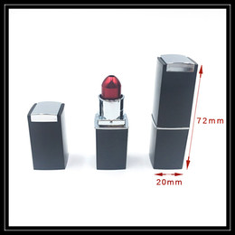 Wholesale Lady Vaporizer - Wholesale Ladies Lipstick Smoking Pipes Mini Metal Hand Smoke Pipe Dry Herbal Vaporizer For Tobacco Smoking Accessories DHL Free