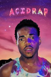Wholesale Wall Art Music Stickers - Chance The Rapper Flag Rap Hip-Hop Music 36x24 inch Print Poster Q7-711-10
