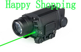 Wholesale New Led Laser Torch - New Arrival Tactical X5L LED Flashlight Torch Light With Green Laser For Helmet outdoors