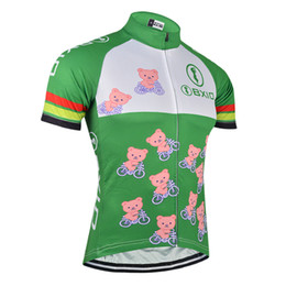 a0b09fe05 BXIO Brand Cycling Only Jersey Men Green Bicycle Clothing Breathable  Cartoon Pattern Cycling Clothing Ropa Ciclismo Hombre BX-103