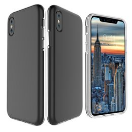 Wholesale Iphone Flexible Case - For iphone x 10 X edition Soft TPU & Hard PC Smooth Case Scratch Resistant Back Shell Flexible Cover For Samsung Galaxy Note 8