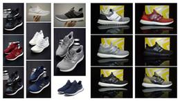 Wholesale snowflake blue - Ultra 2.0 4.0 mens running shoes sneakers women Sport Tri-Color R2 CNY Snowflake Core Triple Black White