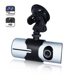 Wholesale Gps Vehicle Recorder - 140degree 2.7inch Vehicle 1080P Car DVR Camera Video Recorder Dash Cam G-Sensor GPS Dual Lens Night Vision Microphone