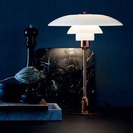 Wholesale Ph Table Lamp - European Louis Poulsen PH 4 Desk Lamp Bedroom E14 Led Table Reading Lamp Studay Lampara Led Escritorio Abajur Leitura Modern